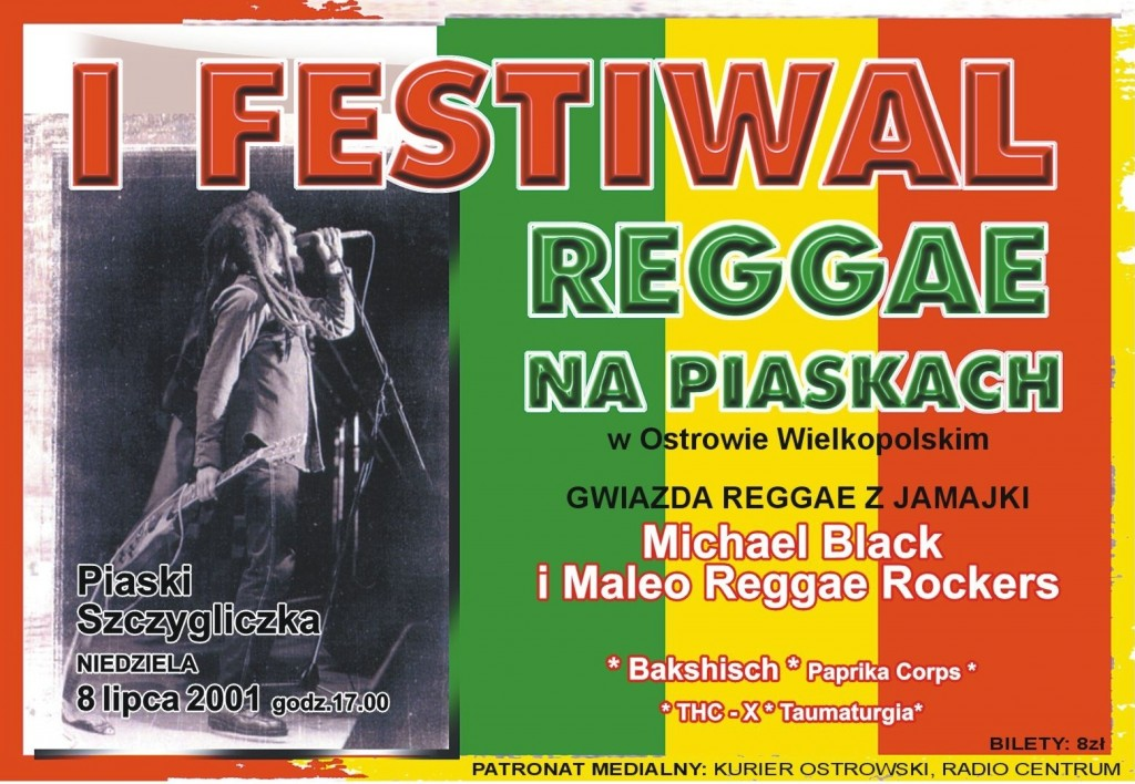 2001 plakat