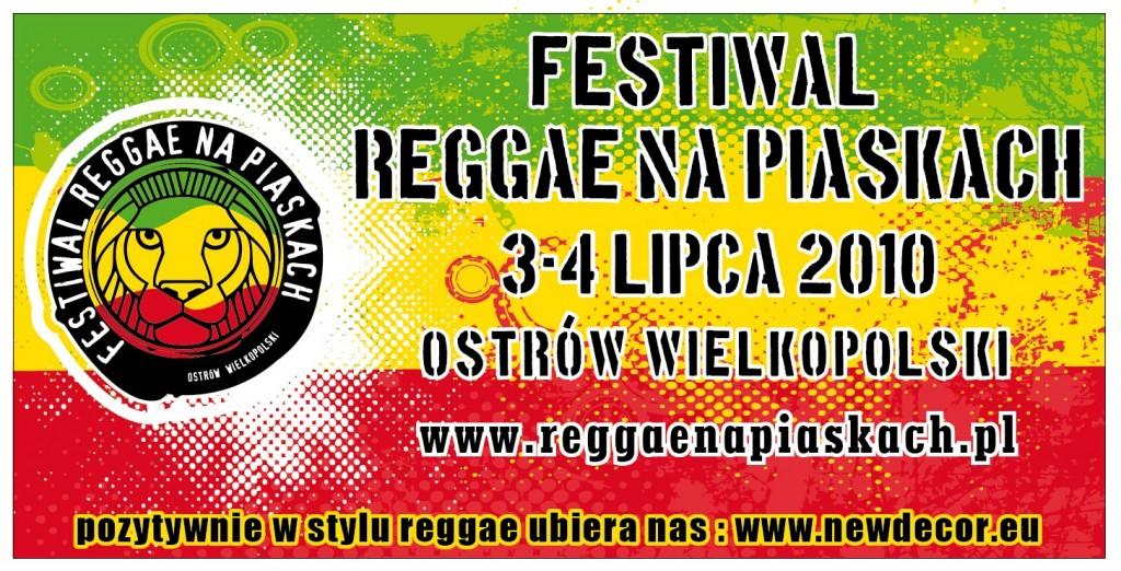 Reggae na Piaskach 2010 baner